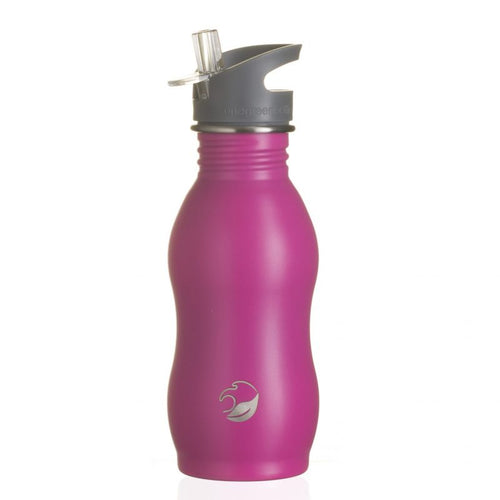 500ml Stainless Steel Bottle with Quench Cap - Raspberry