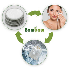 Load image into Gallery viewer, Reusable Make Up Remover Pad Set (16) - Bambaw