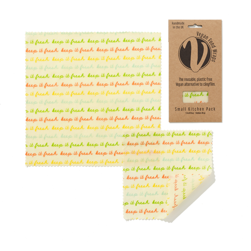The Beeswax Wrap Co - Small Kitchen Pack