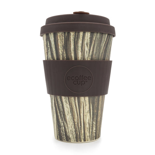 Ecoffee Reusable Coffee Cup - Baumrinde 14oz