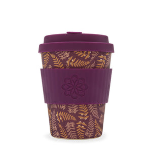 Ecoffee Reusable Coffee Cup - Tiny Garden Beatrix 12oz