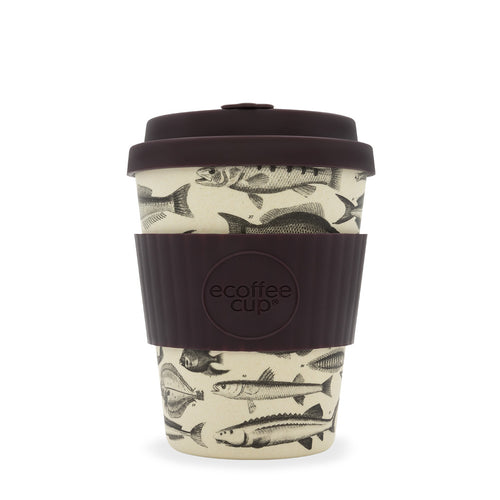 Ecoffee Reusable Coffee Cup - Toolondo Fishman 12oz