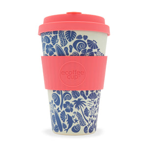 Ecoffee Reusable Coffee Cup - Waimea Bay (Sufers Against Sewage Edition) 14oz