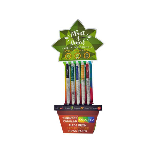 Treewise Plantable Pencils - Coloured