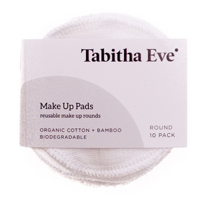 Organic Reusable Make Up Rounds (5 pack) - Tabitha Eve