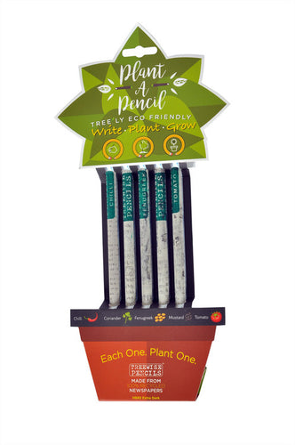 Treewise Plantable Pencils - HB dark