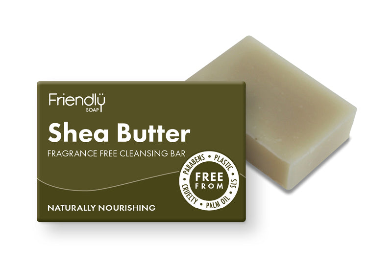 Friendly Soap Cleansing Facial Bar - Shea Butter
