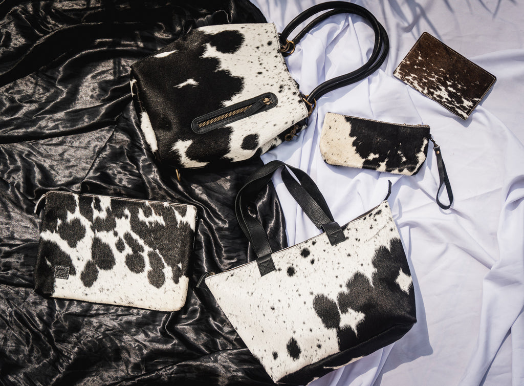 Black and White Cowhide collection