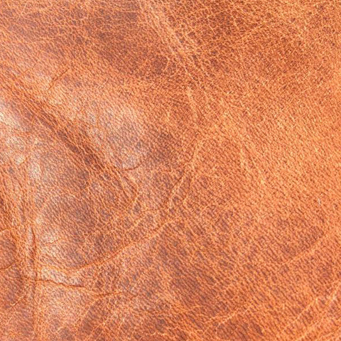 Walnut full grain leather