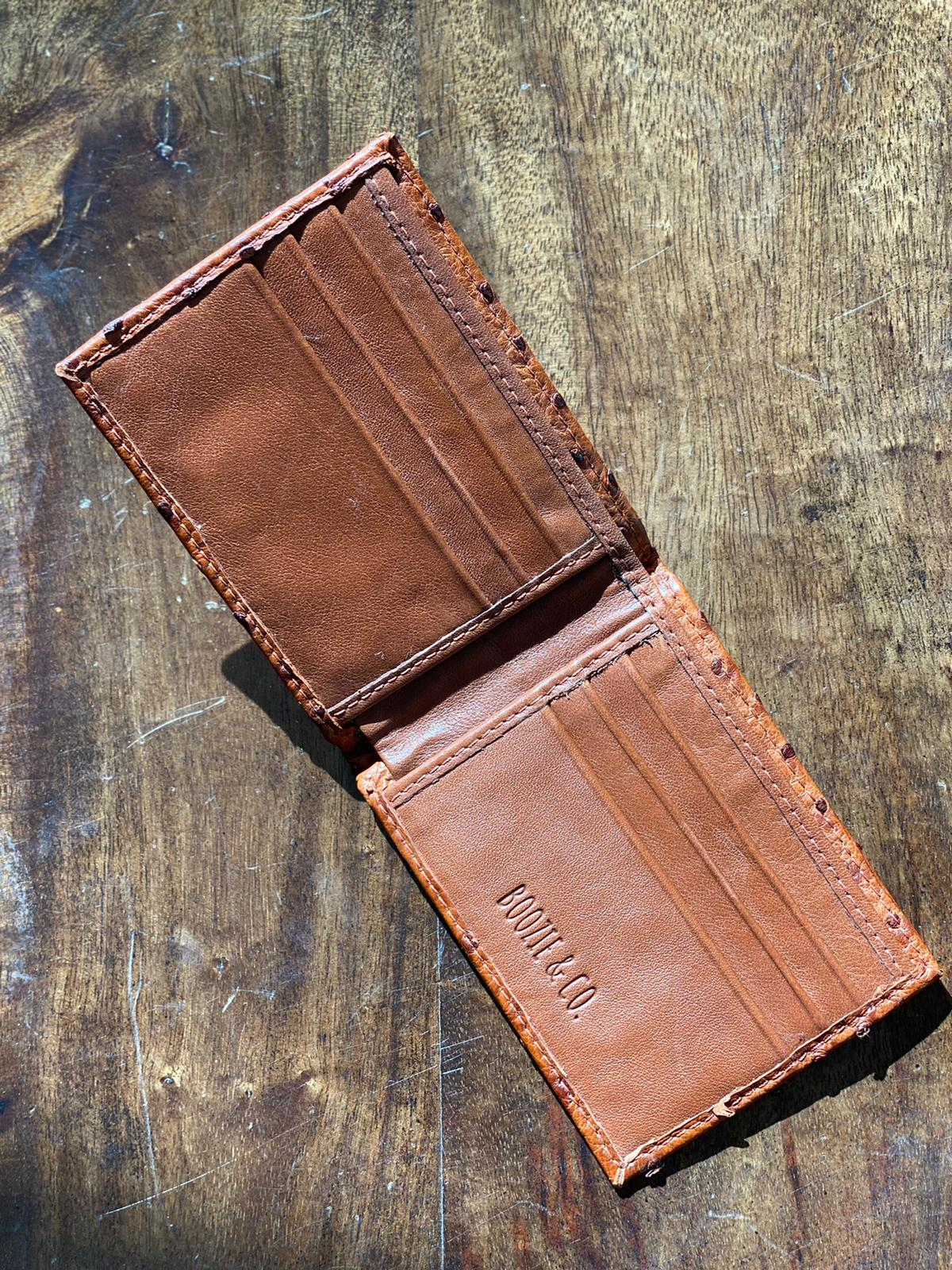 The Glades Gator & Ostrich Wallet