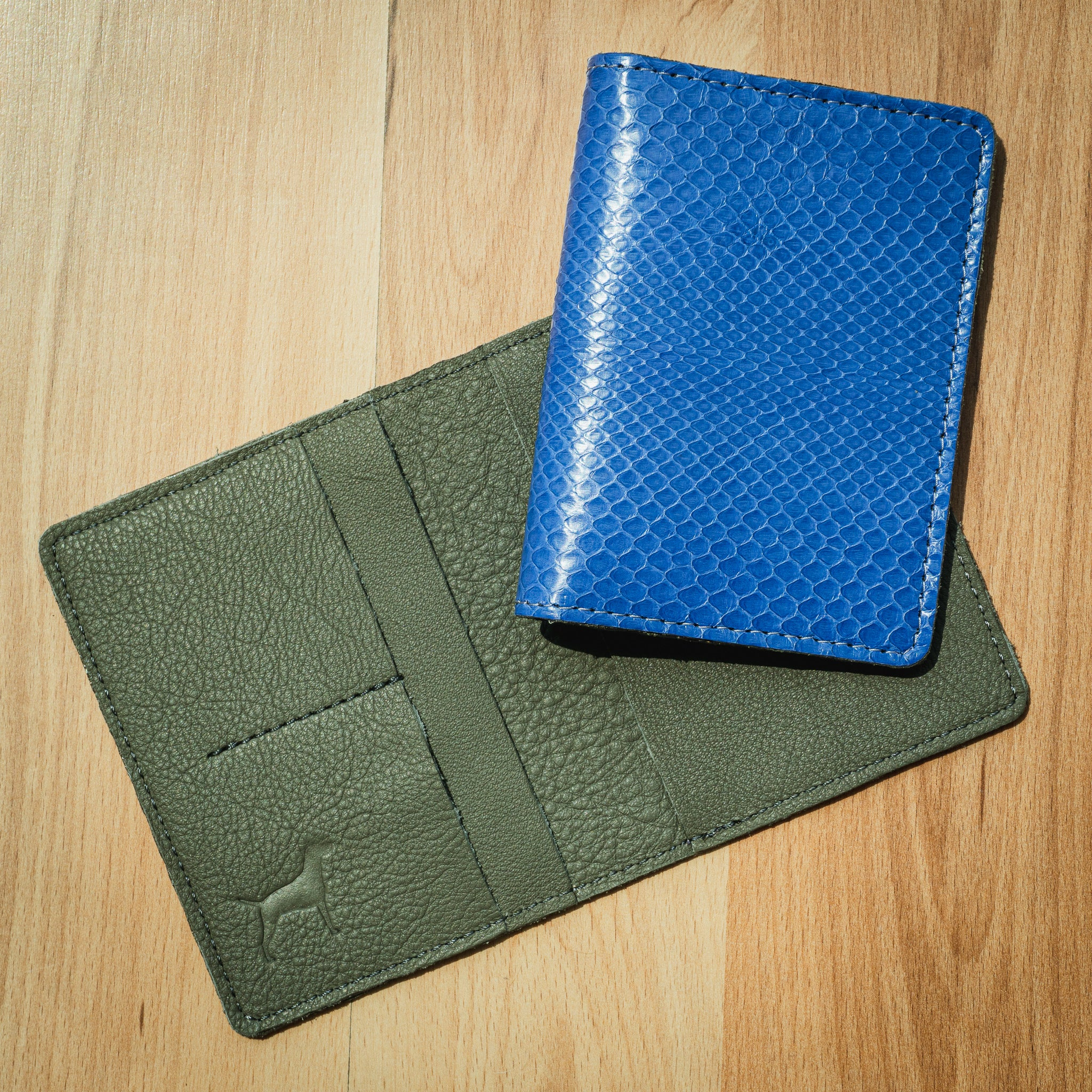 The Glades Python Passport Holder