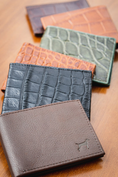 Jalisco wallet leather and snakeskin