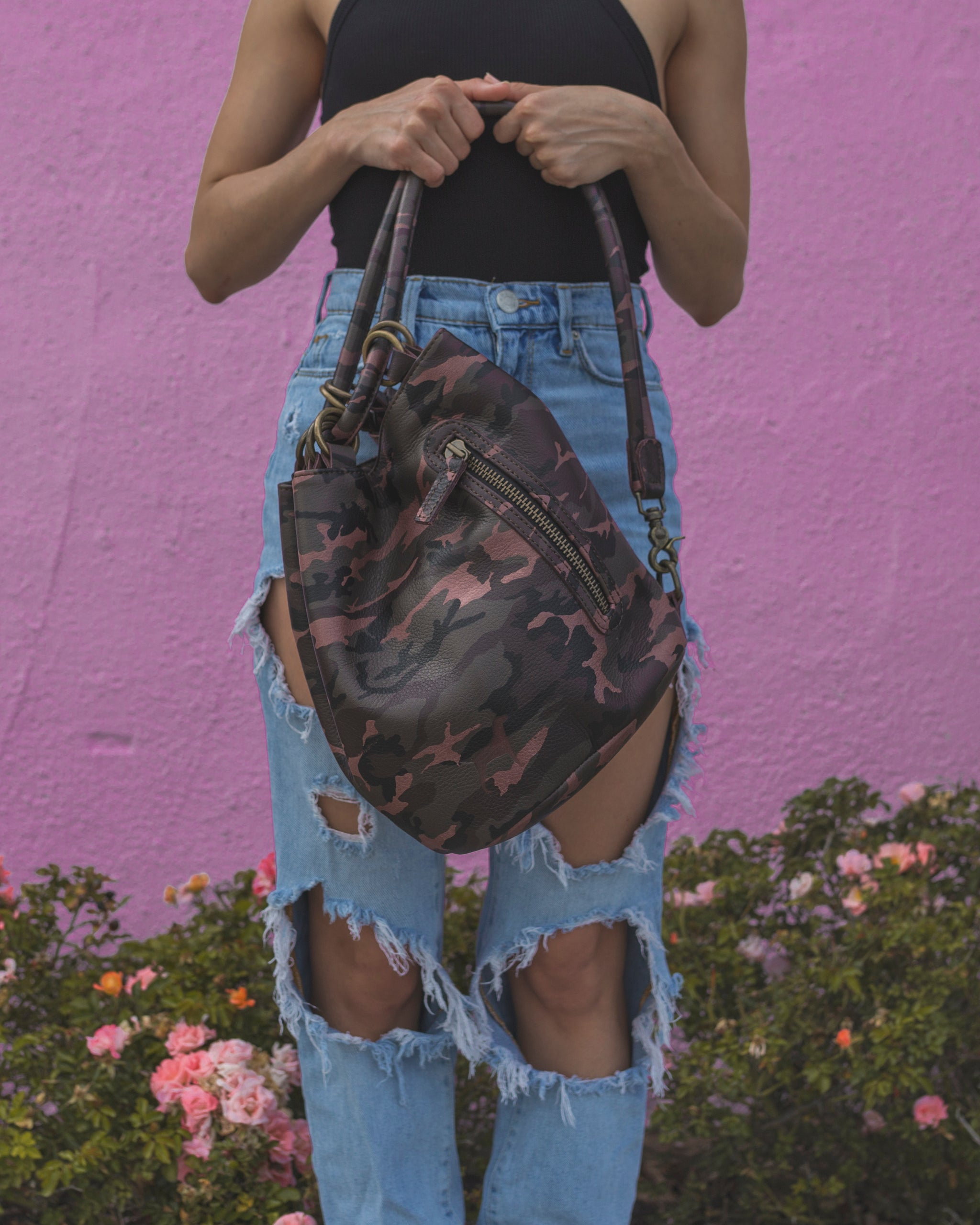 The Menage Bag - 3 way bag (Tote, over the shoulder and crossbody)