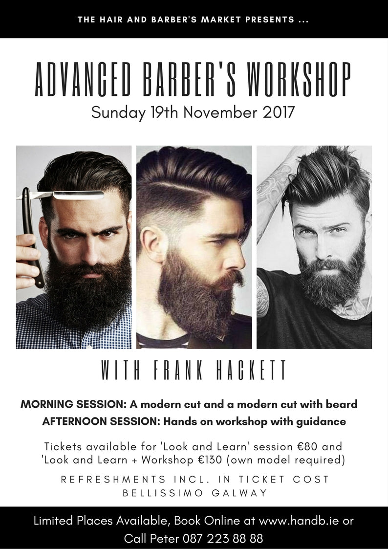barber workshop course galway