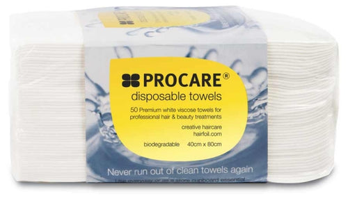 Procare Disposable Towels White