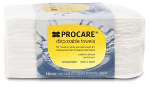 12 Box Special Procare Disposable Towels White