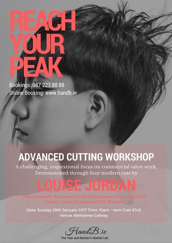 Advanced Cutting Workshop With Louise Jordan