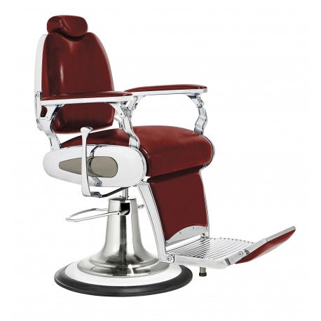 Red Arrow Retro Barber's Chair from HandB.ie