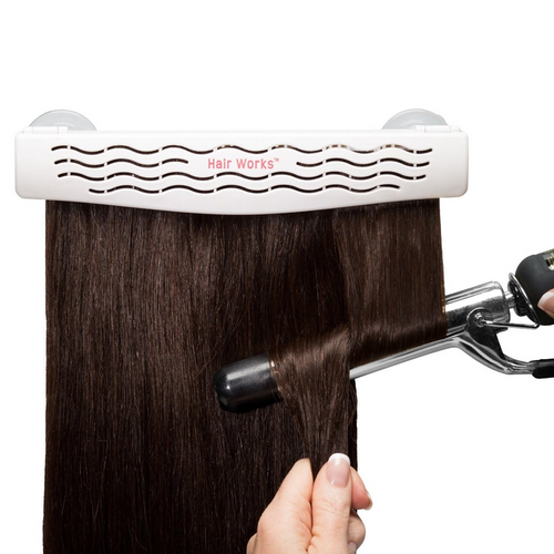Hair Works ™ 4-in-1 Hair Extensions Style Caddy