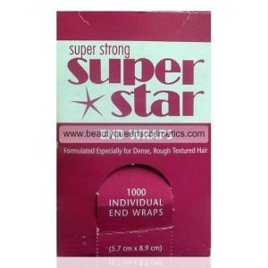 Sibel Super Strong Super Star Perming End Papers 1000 Pack