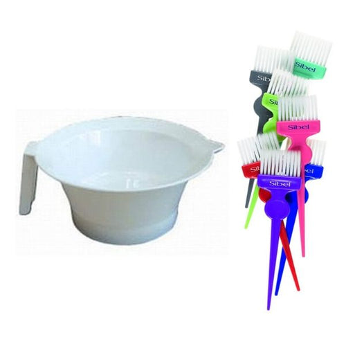 Colour Mixing Bowl and Tint Brush