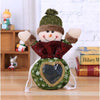 Christmas Decorations Candy Bag - Bear Raising Hands