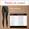 (57% OFF)Leggings De Velours En S Doublé