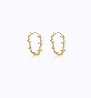SONS 19K Gold and Diamonds Earrings