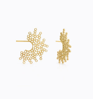SONS 18K Gold Earrings 20x25 mm