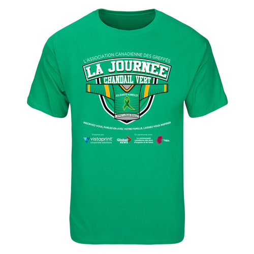 Green Shirt Day T-Shirt - Adult & Youth - French