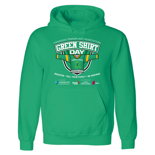 Green Shirt Day Hoodie - Adult & Youth
