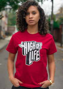 High Off Life 2.0 Tee (Cherry Red)
