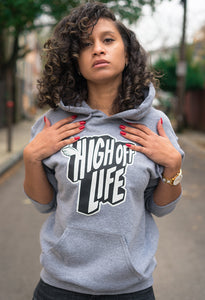 High Off Life Hoodie (Gray)