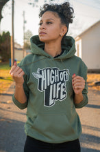 Load image into Gallery viewer, High Off Life Hoodie (Military Green)