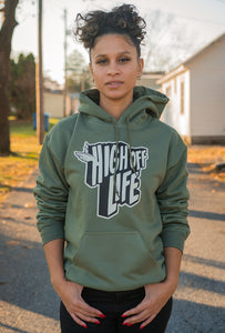 High Off Life Hoodie (Military Green)