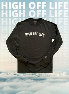 High Off Life Long Sleeve Trademark Tee (Black)