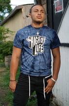 Load image into Gallery viewer, High Off Life T-Shirt (Navy Tie-Dye)