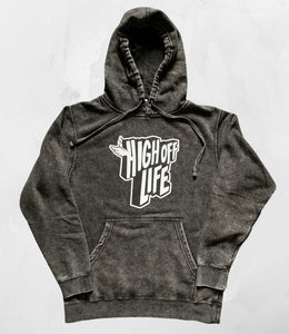 High Off Life Mineral Wash Hoodie