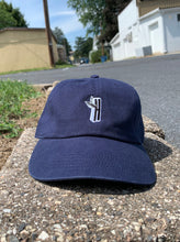 "Load image into Gallery viewer, High Off Life ""H"" Dad Hat (Navy)"