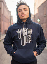 Load image into Gallery viewer, High Off Life 2.0 Champion Hoodie (Navy)