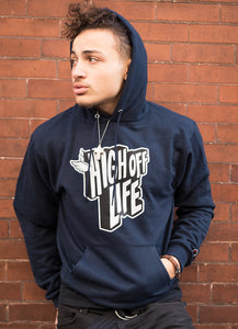 High Off Life 2.0 Champion Hoodie (Navy)