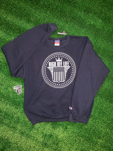High Off Life O.G. Champion Crewneck (Navy)