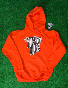 High Off Life Hoodie (Orange)