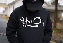 Load image into Gallery viewer, York City Hoodie (Black)
