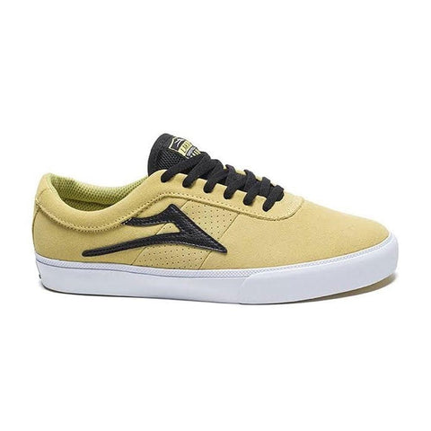 LAKAI SHEFFIELD SUEDE - DUSTY YELLOW/BLACK