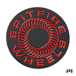 SPITFIRE CLASSIC '87 SWIRL  LAPEL PIN - BLACK/RED