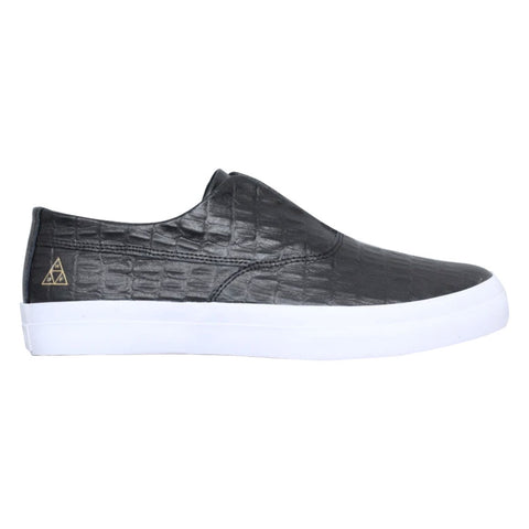 HUF DYLAN SLIP-ON - BLACK