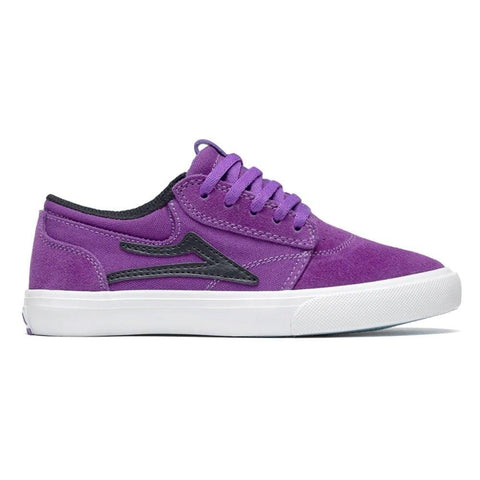 LAKAI GRIFFIN SUEDE (YOUTH) - PURPLE/BLACK