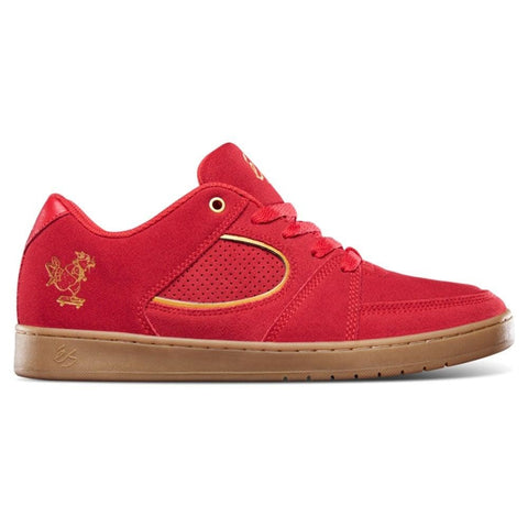 éS ACCEL SLIM SKATE RAT - RED/GOLD