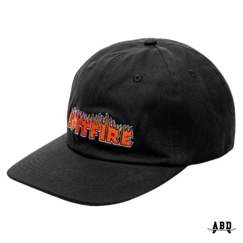 SPITFIRE FLASHFIRE STRAPBACK - BLACK/ORANGE